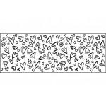 Штамп непрерывный круговой Сердечки Continuous Stamping Wheel™ Fiskars 5708F