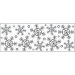 Штамп непрерывный круговой Снежинки Continuous Stamping Wheel™ Fiskars 5707F