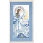 Набор для вышивания арт.LANARTE-147005 ' 4 элемента:вода' 23х49 см
