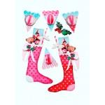 """Наклейки 3D Tilda """"Рождественский дом"""", 8 шт. 480228"""