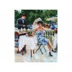 Наборы для вышивания бисером Белоснежка арт.БЛ.9016-СМ На летней веранде 24х30см