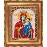 Рисунок на ткани бисером БЛАГОВЕСТ арт.И-5032 Иверская 13,5х17 см