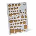 Пластиковая доска для квиллинга с пробковым основанием арт.КЛ.22966 цв. белый