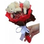 Набор для творчества из мягких игрушек 'Колор Кит' арт.КК.3MC Шоколадные конфеты букет