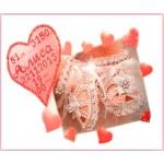 Набор для вышивания хрустальными бусинами ОБРАЗА В КАМЕНЬЯХ арт. 5507 Метрика для девочки с алфавитом