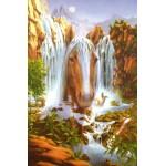 Набор с нанесенным рисунком для вышивания бисером Империя бисера арт.ИБ-050 Водопад миражей