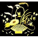Набор для вышивания лентами арт.TBY- A008 50*55