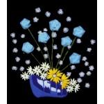 Набор для вышивания лентами арт.TBY- A006 50*55