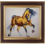Набор для частичного вышивания бисером Империя бисера арт.ИБЧ-140 Солнечный конь