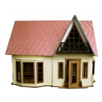 Сборная модель из МДФ Кукольный дом 2-х эт. арт.09210001 50х30х40 недекорированный