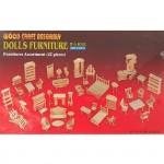 Сборная модель P077-10 арт.КЛ21052 дерево набор мебели 42 предмета