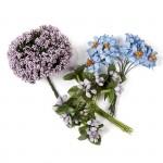 Цветы Creativ арт.50411 цв.фиолетовый высота 10 см уп.36 шт в ассорт.