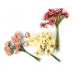 Цветы Creativ арт.50414 цв.оранжевый высота 10 см уп.36 шт в ассорт.