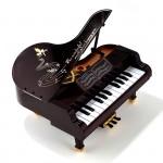 Фигурка Рояль с музыкальным механизмом арт.50011 23,6х21,4х22,5 см