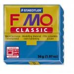 FIMO Classic Blue полимерная глина, запекаемая в печке, уп. 56 гр. цвет: синий арт.8000-37
