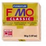 FIMO Classic Skin Light полимерная глина, запекаемая в печке, уп. 56 гр. цвет: телесный 8000-43