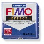 FIMO Effect Glitter Blue полимерная глина, запекаемая в печке, уп. 56 гр. цвет: синий с блестками 8020-302
