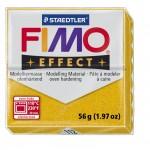 FIMO Effect Glitter Gold запекаемая в печке полимерная глина, уп. 56гр. цвет: золотой с блестками 8020-112
