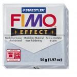 FIMO Effect Glitter Silver полимерная глина, запекаемая в печке, уп. 56 гр. цвет: серебряный с блестками 8020-812