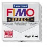 FIMO Effect Glitter White полимерная глина, запекаемая в печке, уп. 56 гр. цвет: белый с блестками 8020-052