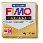 FIMO Effect Metallic Gold полимерная глина, запекаемая в печке, уп. 56 гр. цвет: золотой металлик 8020-11