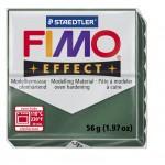 FIMO Effect Metallic Opal Green полимерная глина, запекаемая в печке, уп. 56 гр. цвет: зеленый опал, металлик 8020-58