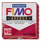 FIMO Effect Metallic Ruby Red полимерная глина, запекаемая в печке, уп. 56 гр. цвет: рубиновый металлик 8020-28