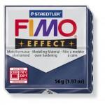 FIMO Effect Metallic Sapphire Blue полимерная глина, запекаемая в печке, уп. 56 гр. цвет: голубой сапфир, металлик 8020-38