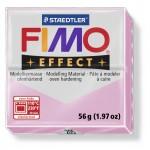 FIMO Effect Pastel Light Pink полимерная глина, запекаемая в печке, уп. 56 гр. цвет: пастельно-розовый 8020-205