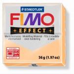 FIMO Effect Pastel Peach полимерная глина, запекаемая в печке, уп. 56 гр. цвет: персик 8020-405