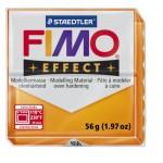 FIMO Effect Transparent Orange полимерная глина, запекаемая в печке, уп. 56 гр. цвет: полупрозрачный оранжевый 8020-404