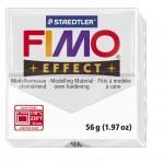 FIMO Effect Transparent White полимерная глина, запекаемая в печке, уп. 56 гр. цвет: прозрачный 8020-014