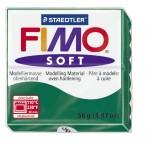 FIMO Soft Emerald полимерная глина, запекаемая в печке, уп. 56 гр. цвет: изумруд арт.8020-56