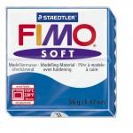 FIMO Soft Pacific Blue полимерная глина, запекаемая в печке, уп. 56 гр. цвет: синий арт.8020-37
