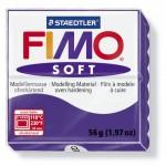FIMO Soft Plum полимерная глина, запекаемая в печке, уп. 56 гр. цвет: сливовый арт.8020-63