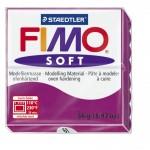 FIMO Soft Purple полимерная глина, запекаемая в печке, уп. 56 гр. цвет: фиолетовый арт.8020-61