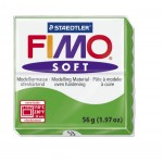 FIMO Soft Tropical Green полимерная глина, запекаемая в печке, уп. 56 гр. цвет: тропический зеленый арт.8020-53