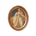Картина в круглой раме Портрет арт.AM0101001