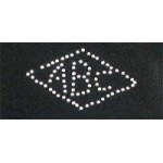 Картинки клеевые металлические арт.RS-5045 АВС цв.серебро