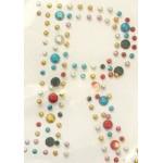 Картинки клеевые металлические арт.ТВД-161116-I буква R