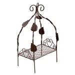 Кровать мини арт. SCB27046 металл 10х6х3,5х18см коричневая
