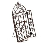 Металлическая фото рамка Ворота арт. SCB27055 9,5х18,5см коричневая