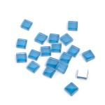 Мозаика стеклянная арт.CC733 Лазурно-синий, 1х1см 100г
