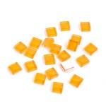 Мозаика стеклянная арт.CC945 Оранжевый, 1х1см 100г