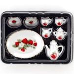 Набор чайный арт.AM0100004 фарфор уп.8 шт Клубника