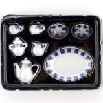 Набор чайный арт.AM0100006 фарфор уп.8 шт Синий Узор