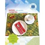 Набор для изготовления текстильной игрушки арт.KFP2 Салфетка зеленая с аппликацией