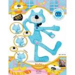 Набор для изготовления текстильной игрушки арт.KFT7B Кот Обнимашка