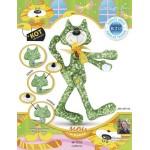 Набор для изготовления текстильной игрушки арт.KFT7G Кот Обнимашка