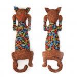 Набор для изготовления текстильной игрушки арт.КП-202 Кот Кофеман 34,5 см